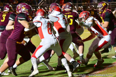 CIAC Football; Class M QFs - #2 Sheehan vs. #7 Wolcott - Photo # 497