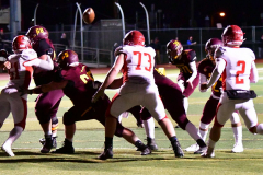 CIAC Football; Class M QFs - #2 Sheehan vs. #7 Wolcott - Photo # 537