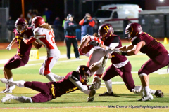 CIAC Football; Class M QFs - #2 Sheehan vs. #7 Wolcott - Photo # 548