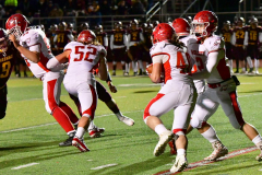 CIAC Football; Class M QFs - #2 Sheehan vs. #7 Wolcott - Photo # 553