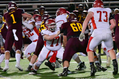 CIAC Football; Class M QFs - #2 Sheehan vs. #7 Wolcott - Photo # 569
