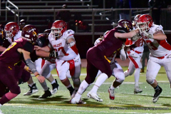 CIAC Football; Class M QFs - #2 Sheehan vs. #7 Wolcott - Photo # 574