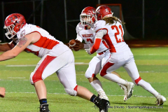 CIAC Football; Class M QFs - #2 Sheehan vs. #7 Wolcott - Photo # 586