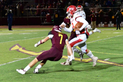 CIAC Football; Class M QFs - #2 Sheehan vs. #7 Wolcott - Photo # 600