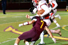 CIAC Football; Class M QFs - #2 Sheehan vs. #7 Wolcott - Photo # 601