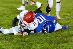 Gallery CIAC Football; Wolcott 44 at St. Paul 28 - Photo # A 831
