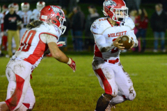 Gallery CIAC Football; Wolcott 44 at St. Paul 28 - Photo # A 871