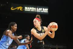 GALLERY WNBA: LV ACES 94 VS ATLANTA DREAM 90