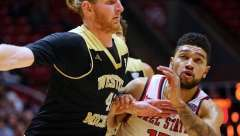 NCAA Basketball: Ball State 84 vs Western Michigan 78, Worthen Arena, Muncie IN, January 28, 2017