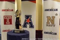 NCAA Football AAC Championship Pre-Game Press Conference - Navy vs. Temple - Photo (12)