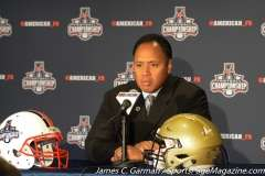 NCAA Football AAC Championship Pre-Game Press Conference - Navy vs. Temple - Photo (6)