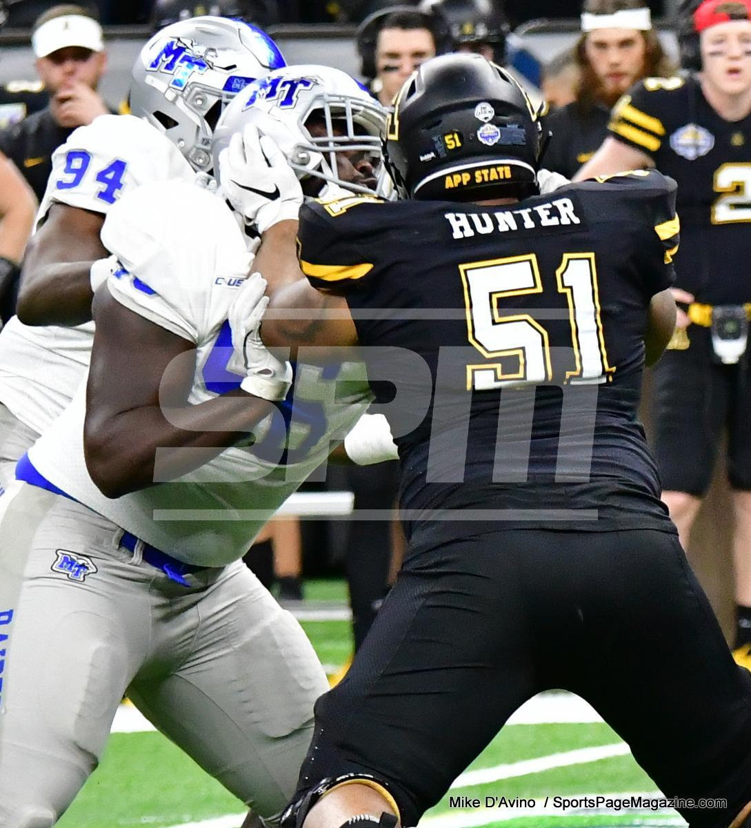 NCAA Football; Appalachian State 43 vs. Middle Tennessee 13 - Photo # (101)