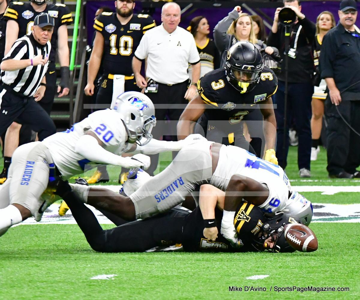 NCAA Football; Appalachian State 43 vs. Middle Tennessee 13 - Photo # (102)