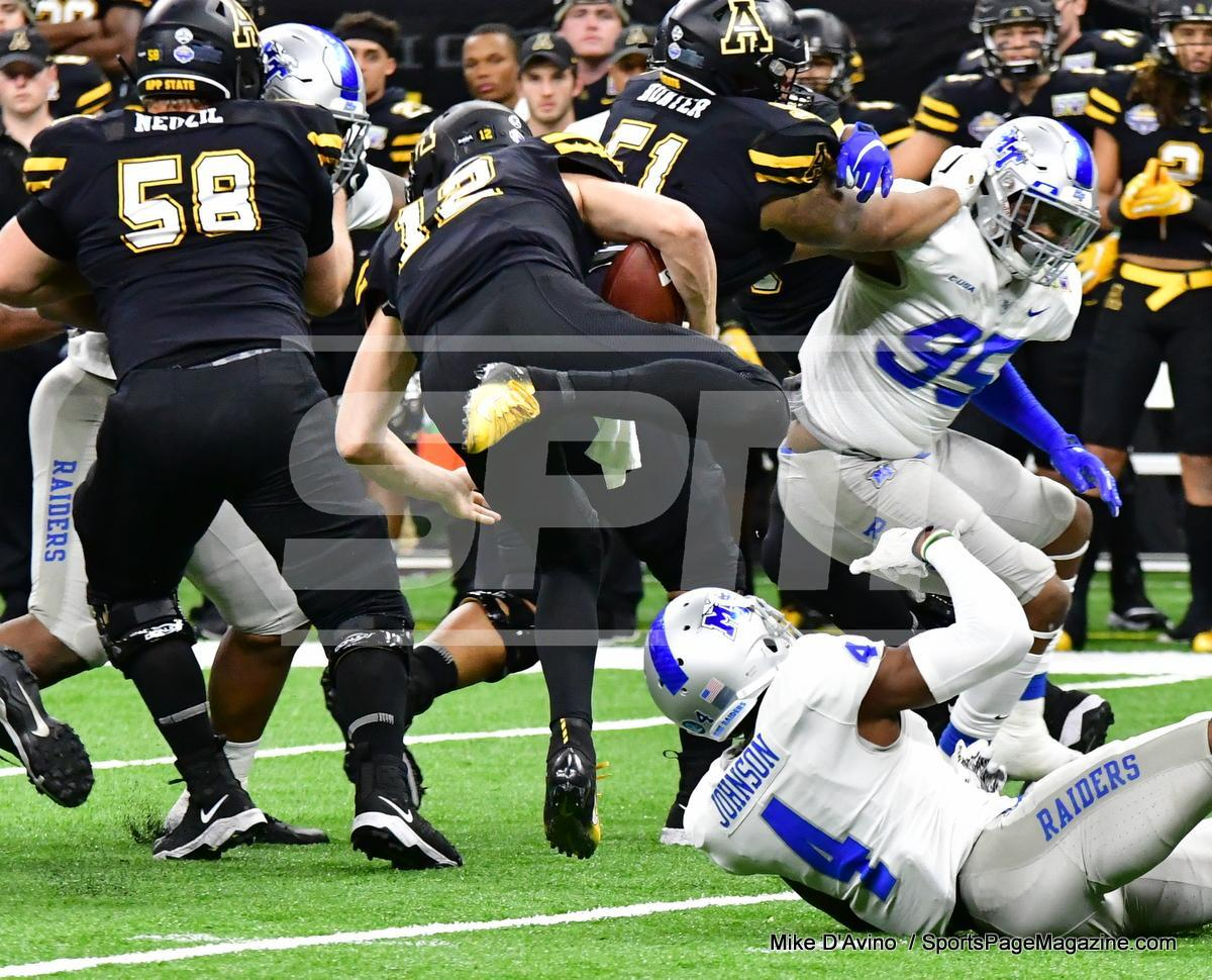 NCAA Football; Appalachian State 43 vs. Middle Tennessee 13 - Photo # (111)