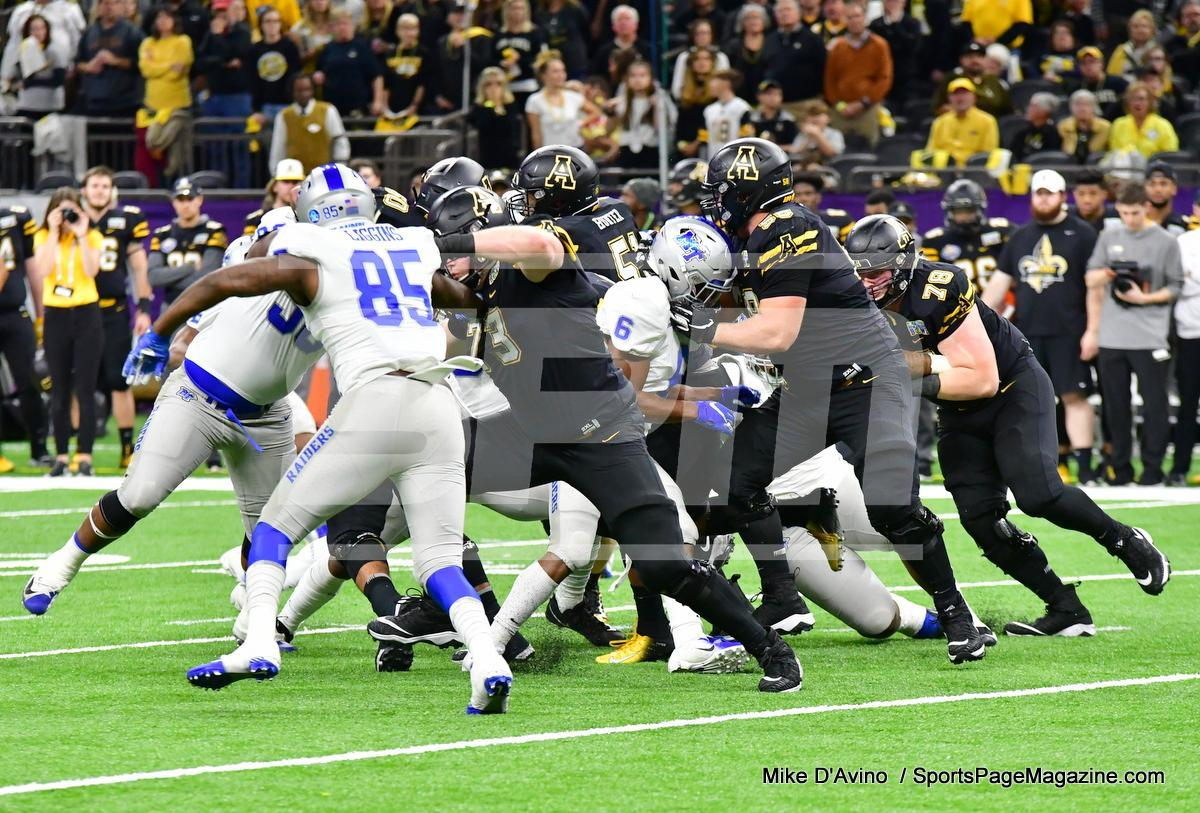 NCAA Football; Appalachian State 43 vs. Middle Tennessee 13 - Photo # (112)