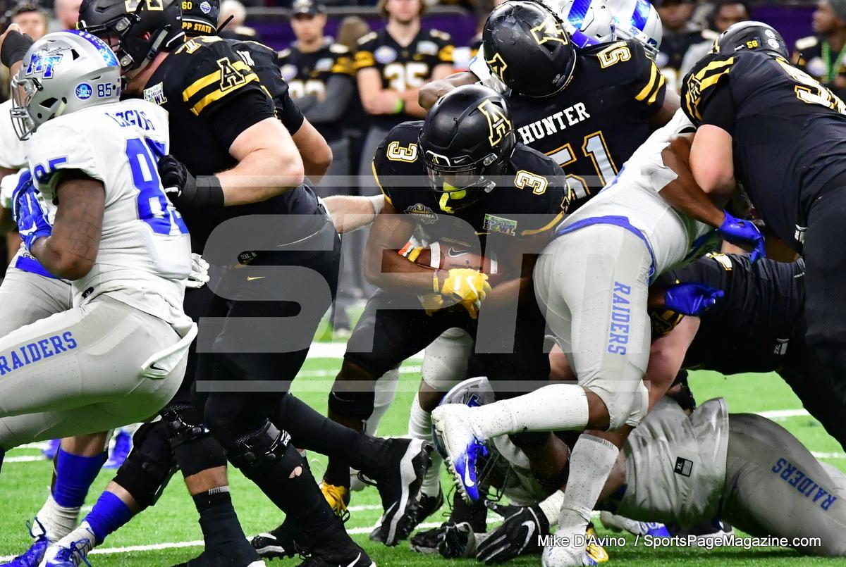 NCAA Football; Appalachian State 43 vs. Middle Tennessee 13 - Photo # (113)