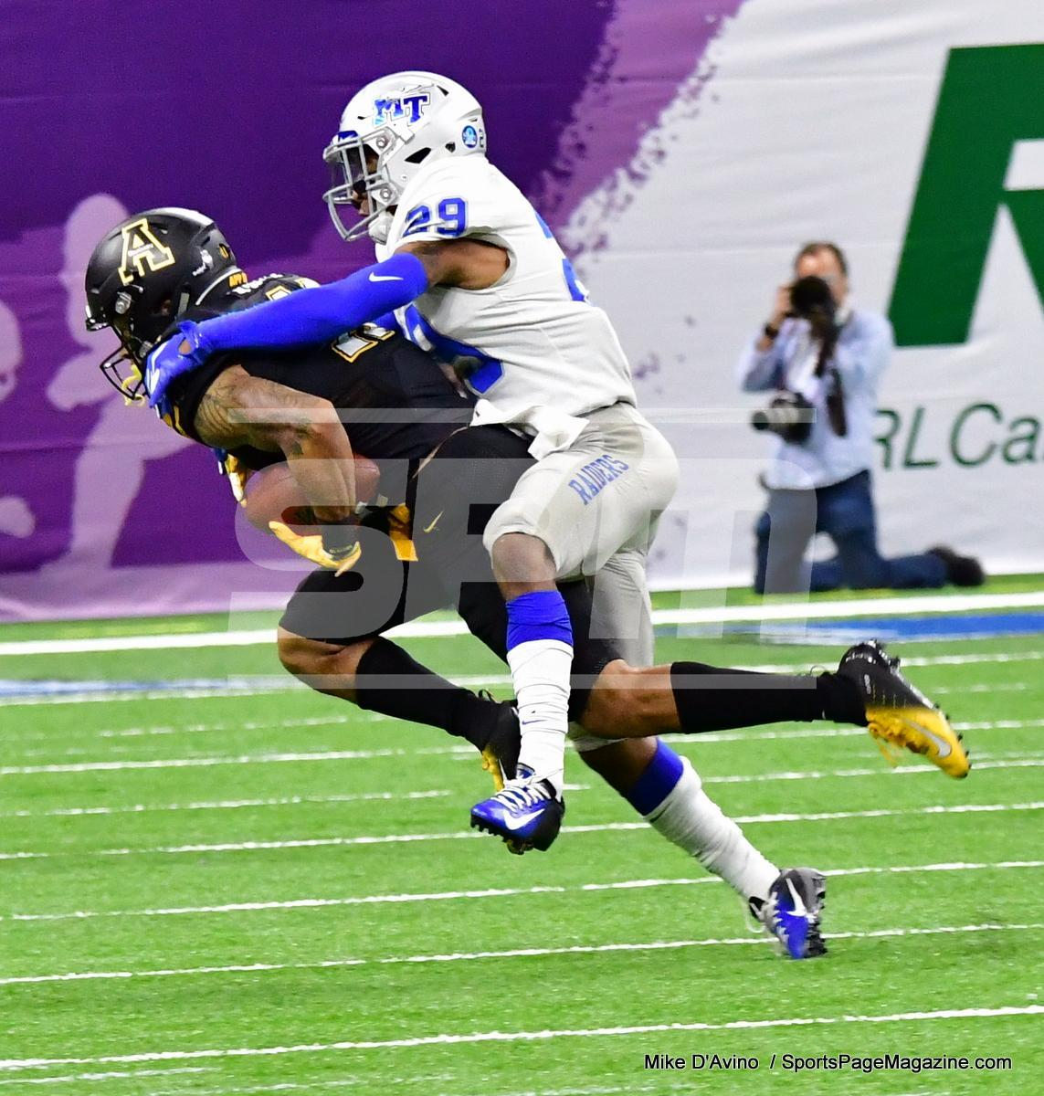 NCAA Football; Appalachian State 43 vs. Middle Tennessee 13 - Photo # (121)