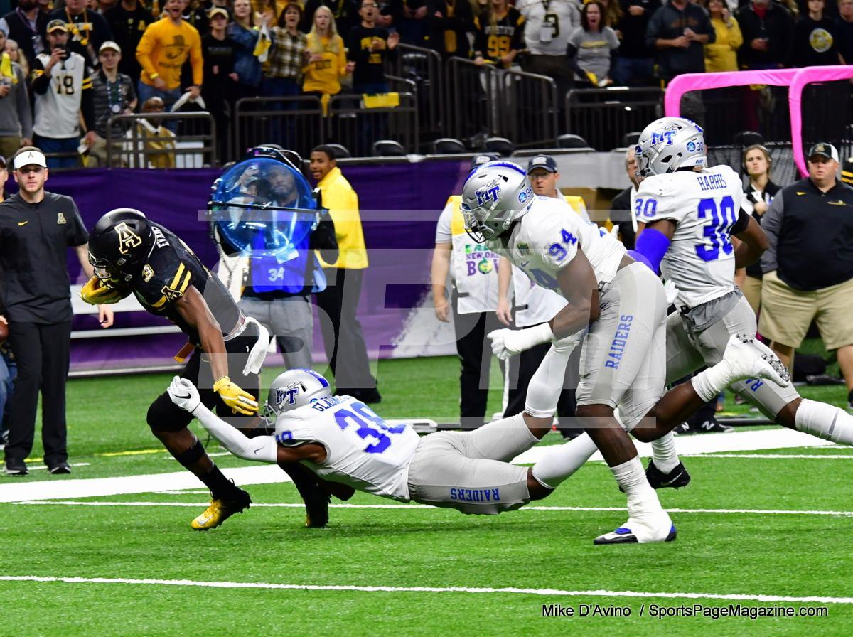 NCAA Football; Appalachian State 43 vs. Middle Tennessee 13 - Photo # (123)