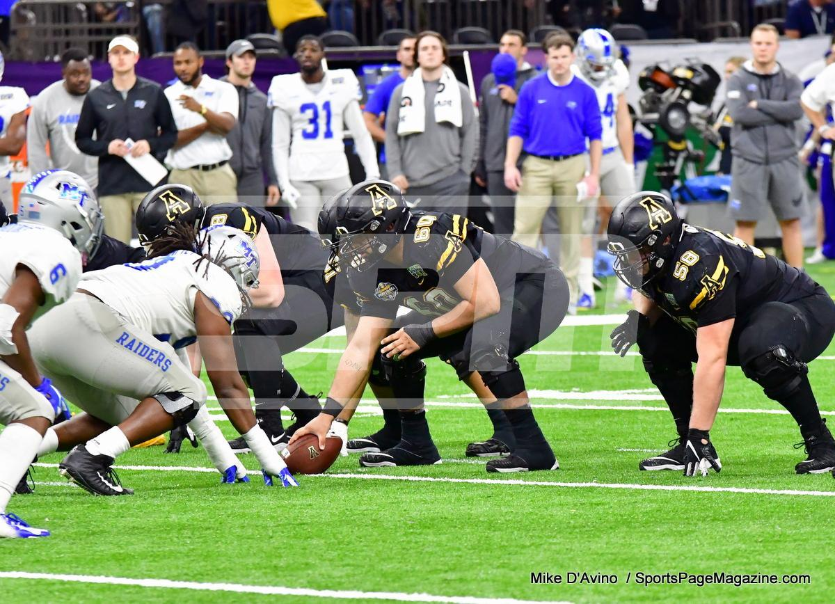 NCAA Football; Appalachian State 43 vs. Middle Tennessee 13 - Photo # (142)