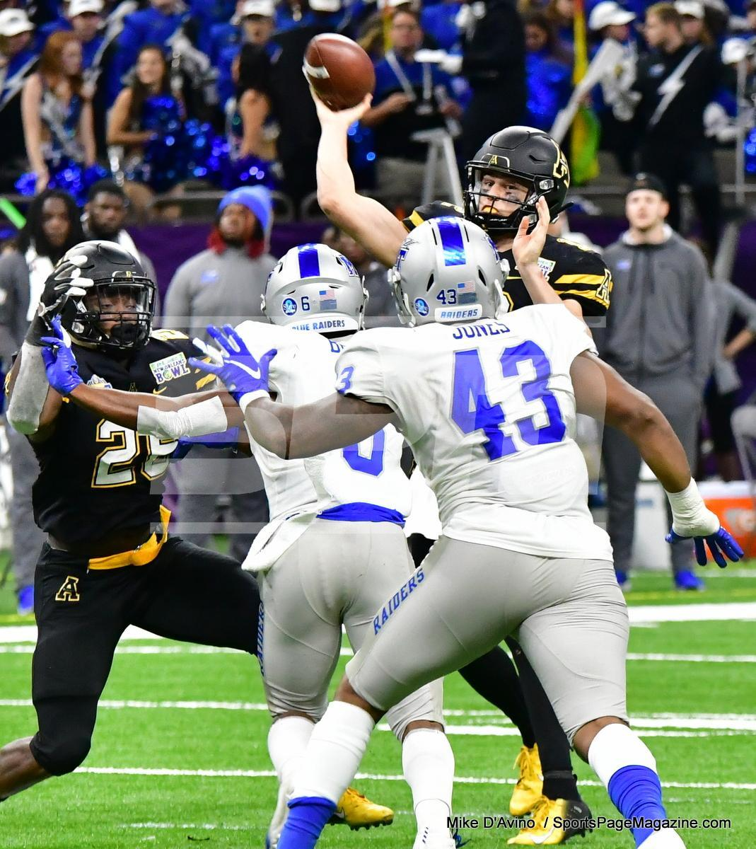 NCAA Football; Appalachian State 43 vs. Middle Tennessee 13 - Photo # (143)