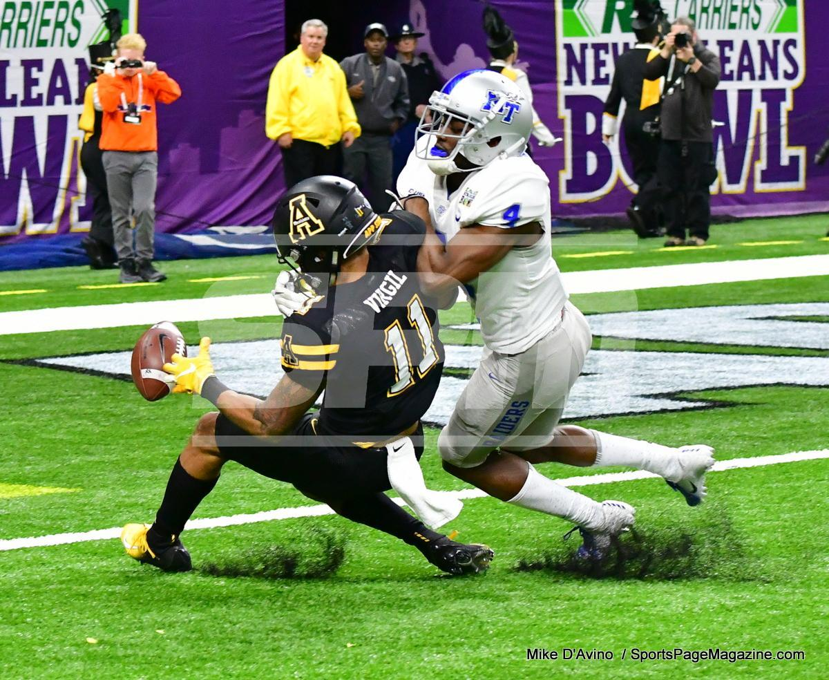 NCAA Football; Appalachian State 43 vs. Middle Tennessee 13 - Photo # (146)