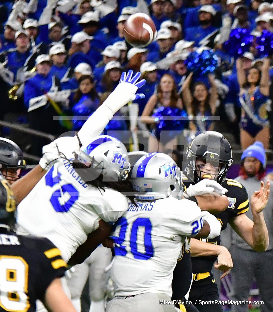 NCAA Football; Appalachian State 43 vs. Middle Tennessee 13 - Photo # (147)