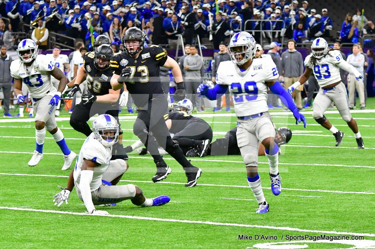 NCAA Football; Appalachian State 43 vs. Middle Tennessee 13 - Photo # (148)