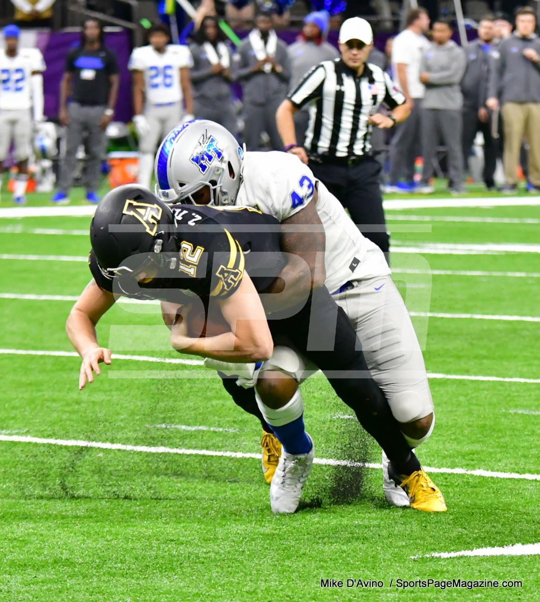 NCAA Football; Appalachian State 43 vs. Middle Tennessee 13 - Photo # (149)
