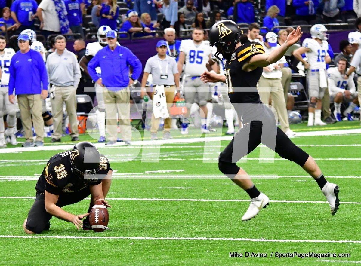 NCAA Football; Appalachian State 43 vs. Middle Tennessee 13 - Photo # (160)