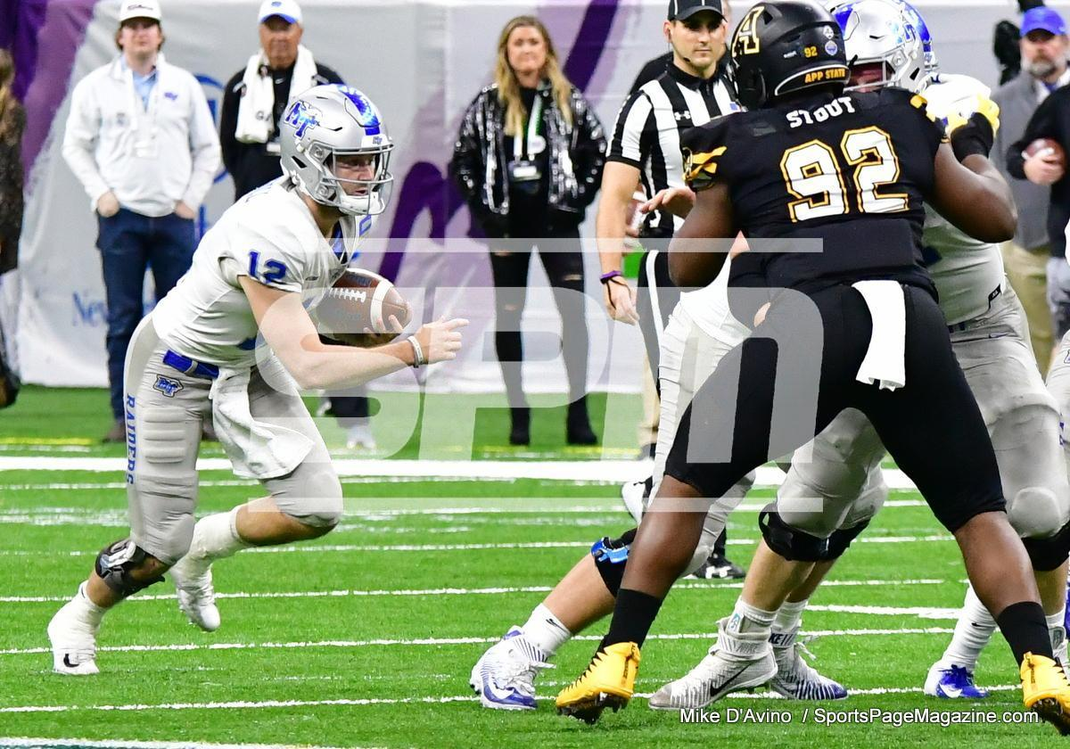 NCAA Football; Appalachian State 43 vs. Middle Tennessee 13 - Photo # (170)