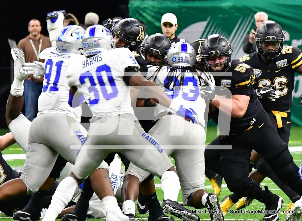 NCAA Football; Appalachian State 43 vs. Middle Tennessee 13 - Photo # (173)