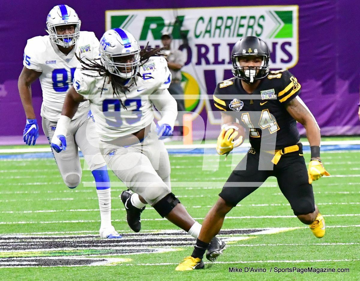 NCAA Football; Appalachian State 43 vs. Middle Tennessee 13 - Photo # (174)