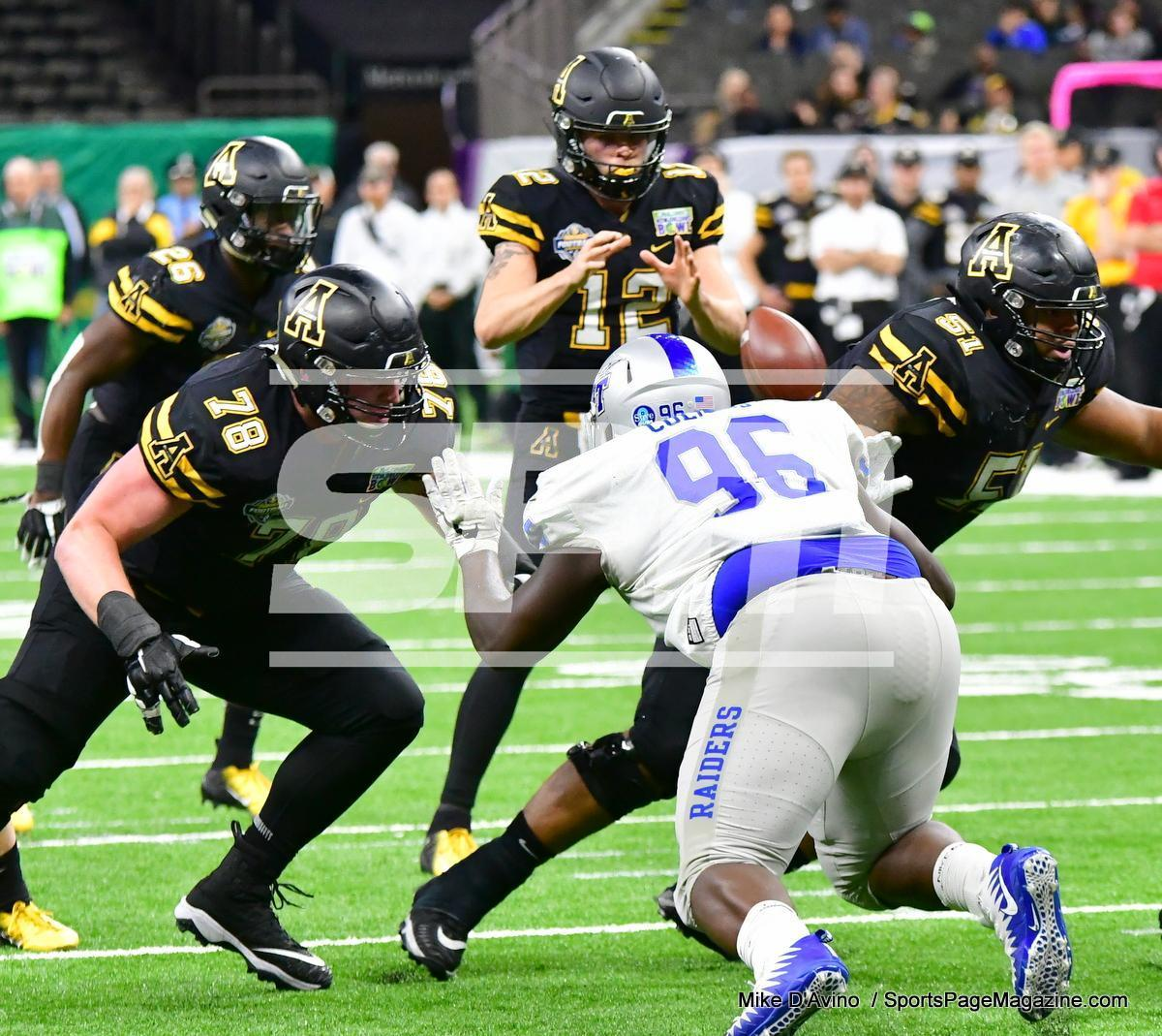 NCAA Football; Appalachian State 43 vs. Middle Tennessee 13 - Photo # (180)