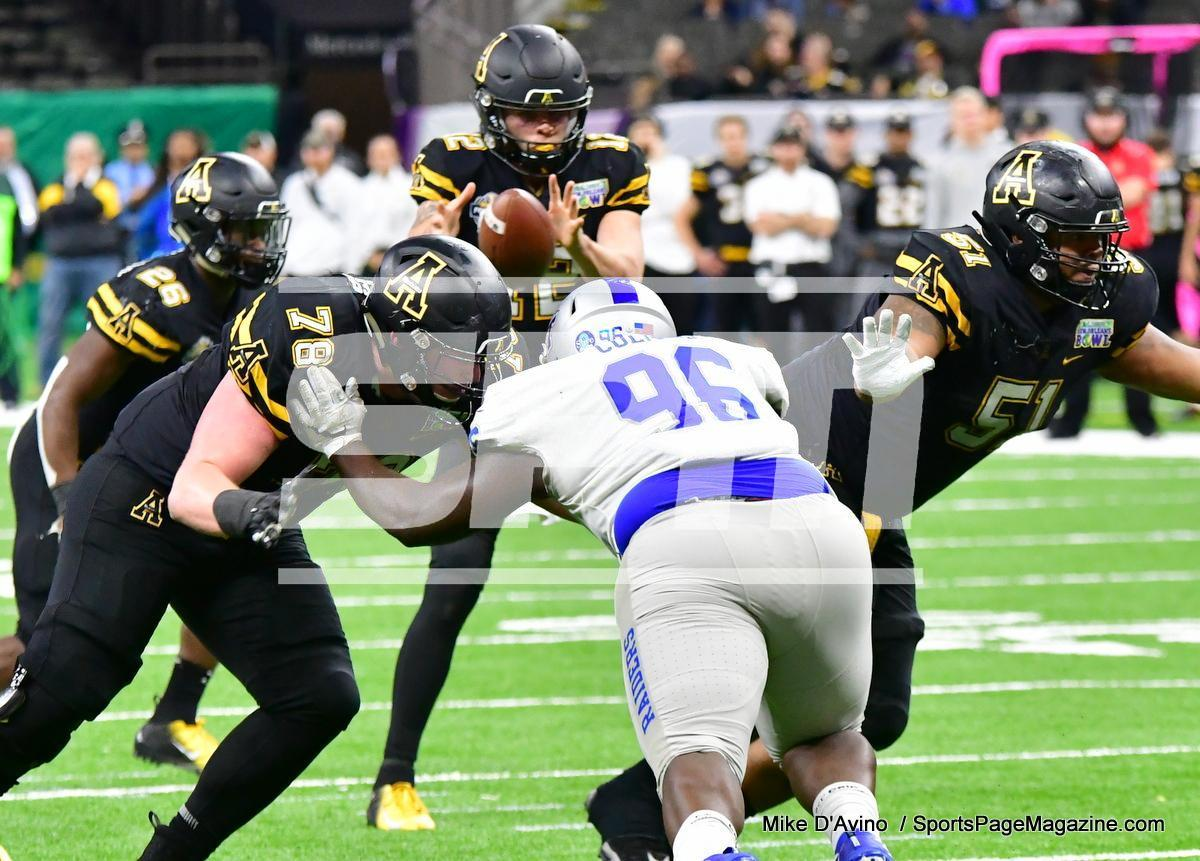 NCAA Football; Appalachian State 43 vs. Middle Tennessee 13 - Photo # (181)