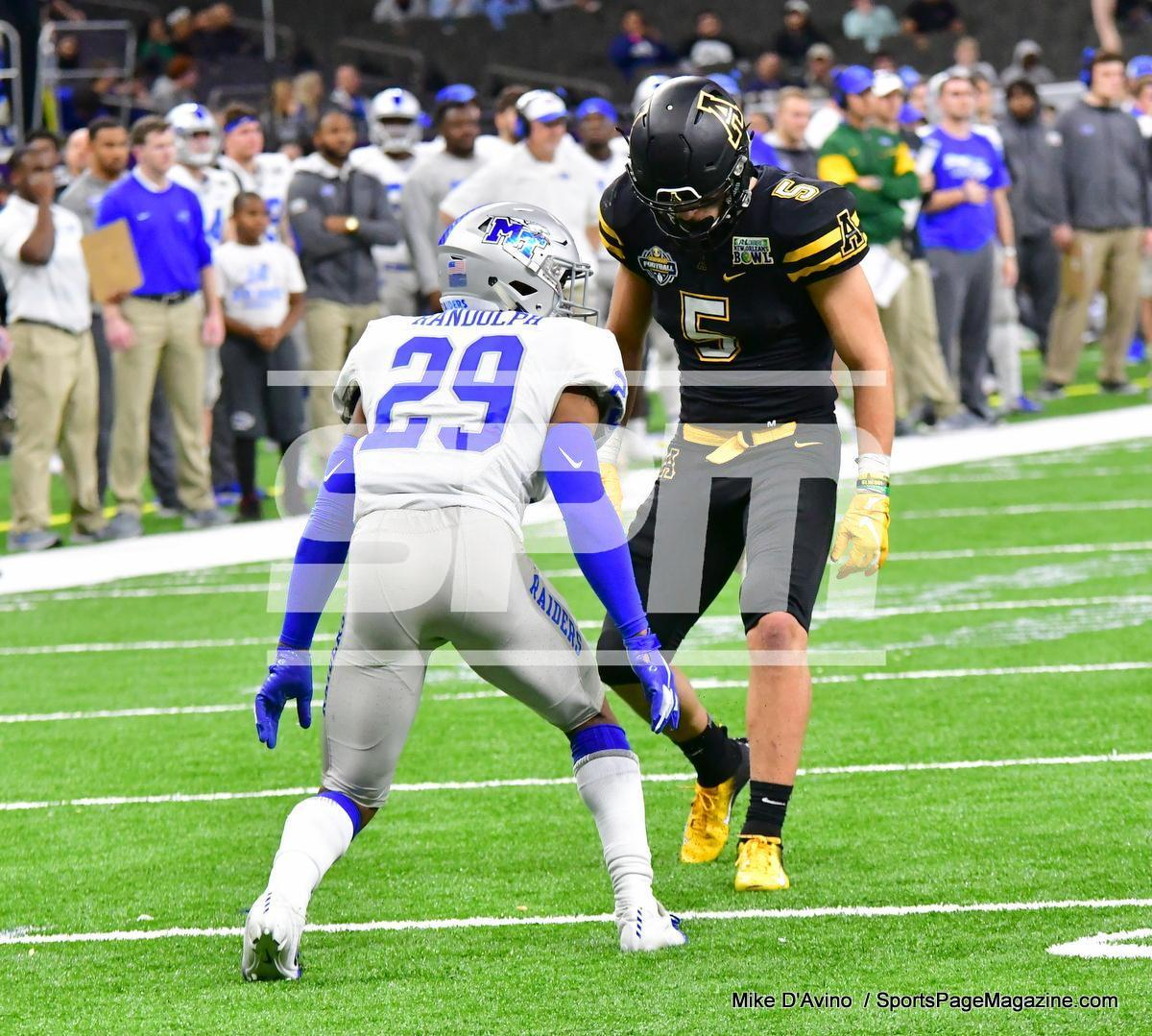 NCAA Football; Appalachian State 43 vs. Middle Tennessee 13 - Photo # (184)