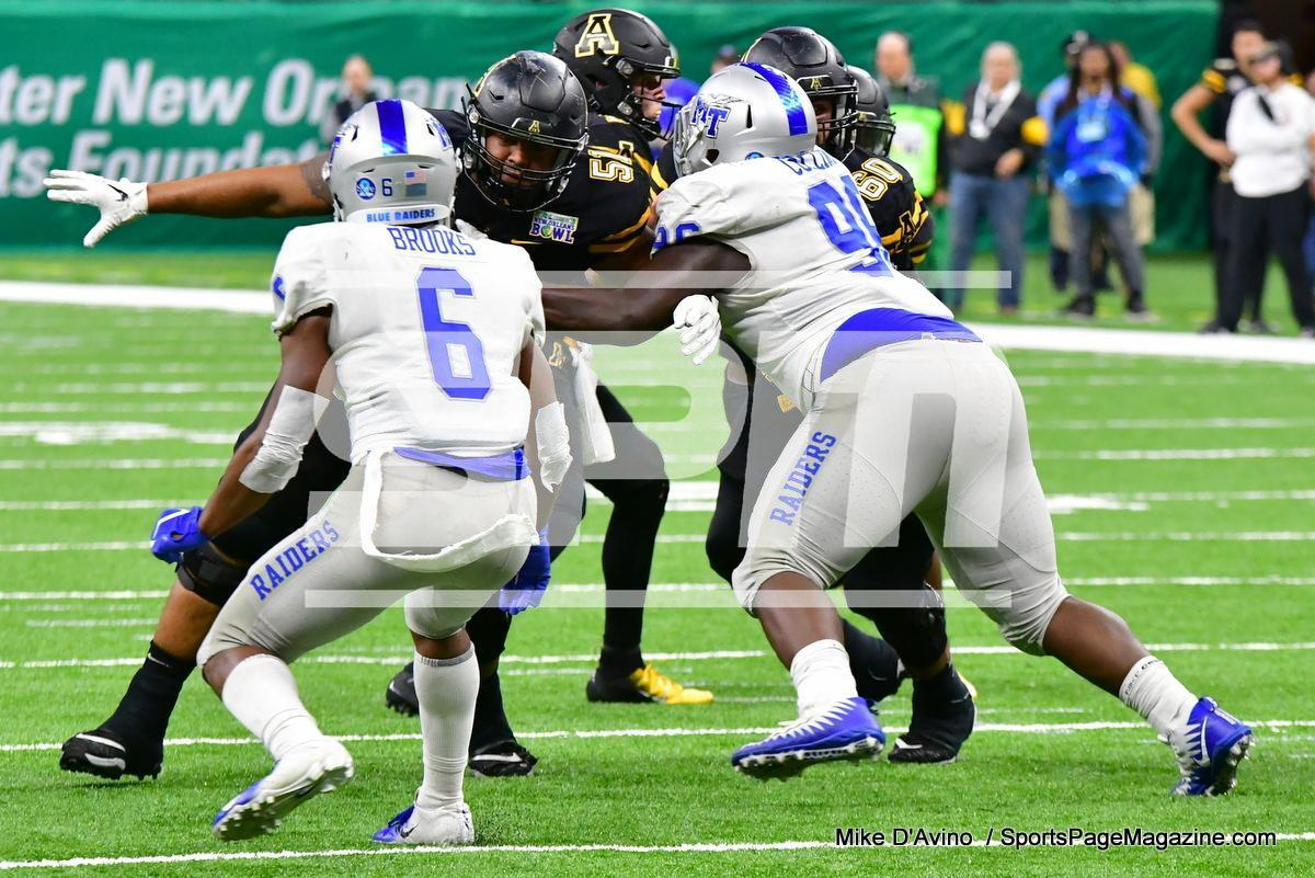 NCAA Football; Appalachian State 43 vs. Middle Tennessee 13 - Photo # (185)