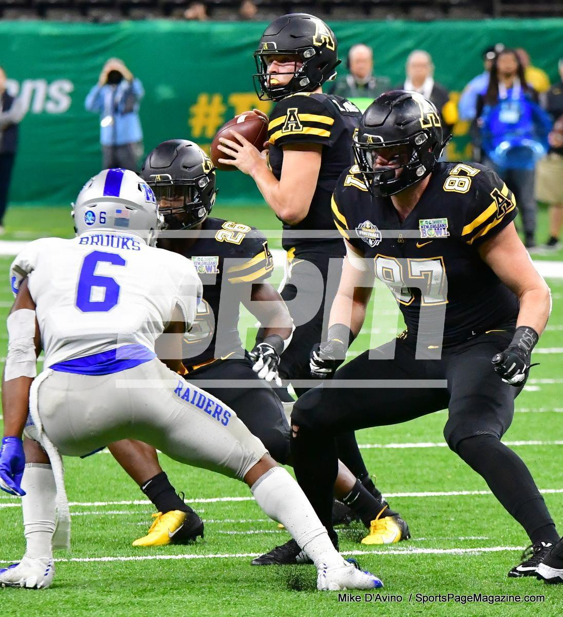 NCAA Football; Appalachian State 43 vs. Middle Tennessee 13 - Photo # (187)