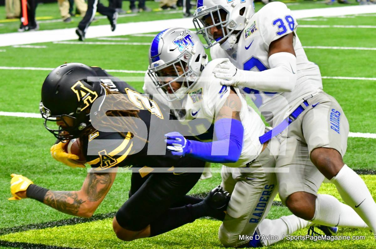 NCAA Football; Appalachian State 43 vs. Middle Tennessee 13 - Photo # (191)