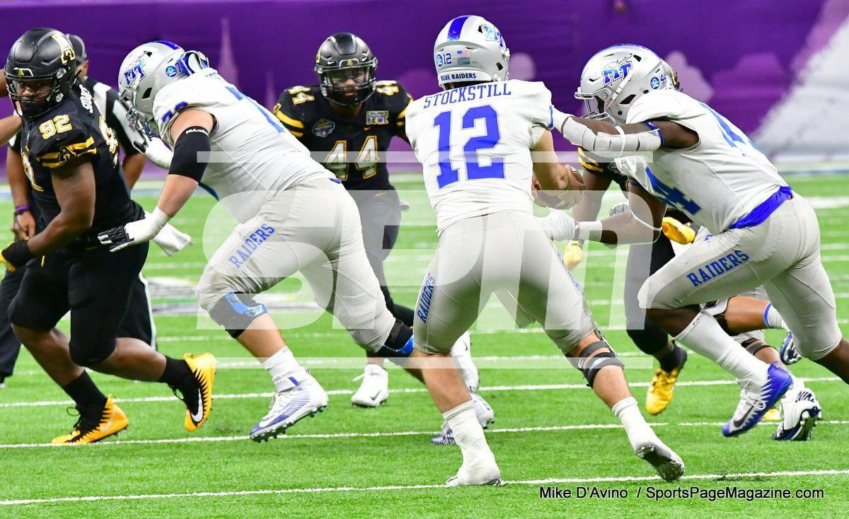 NCAA Football; Appalachian State 43 vs. Middle Tennessee 13 - Photo # (199)