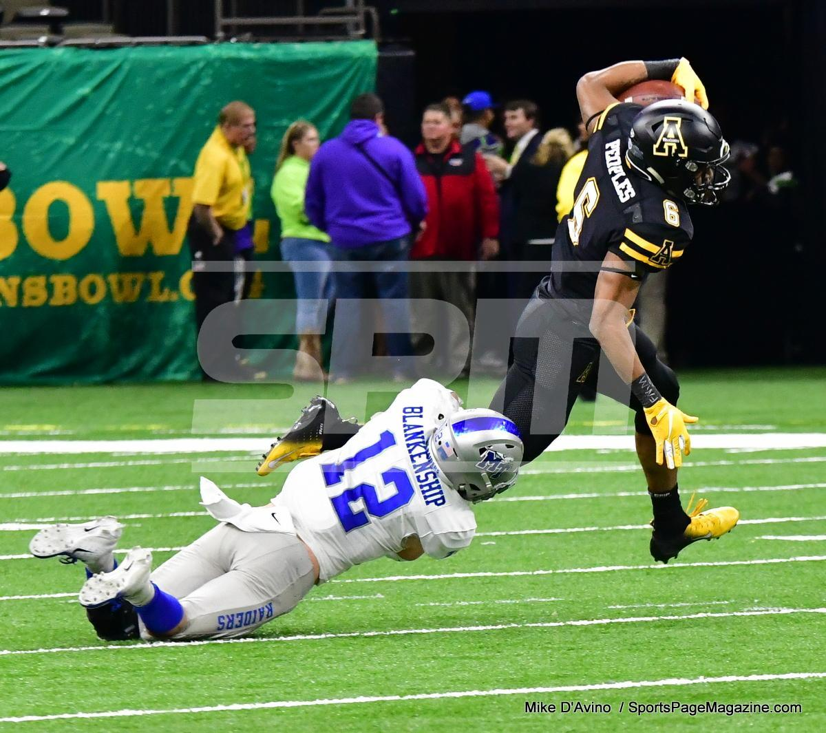 NCAA Football; Appalachian State 43 vs. Middle Tennessee 13 - Photo # (212)