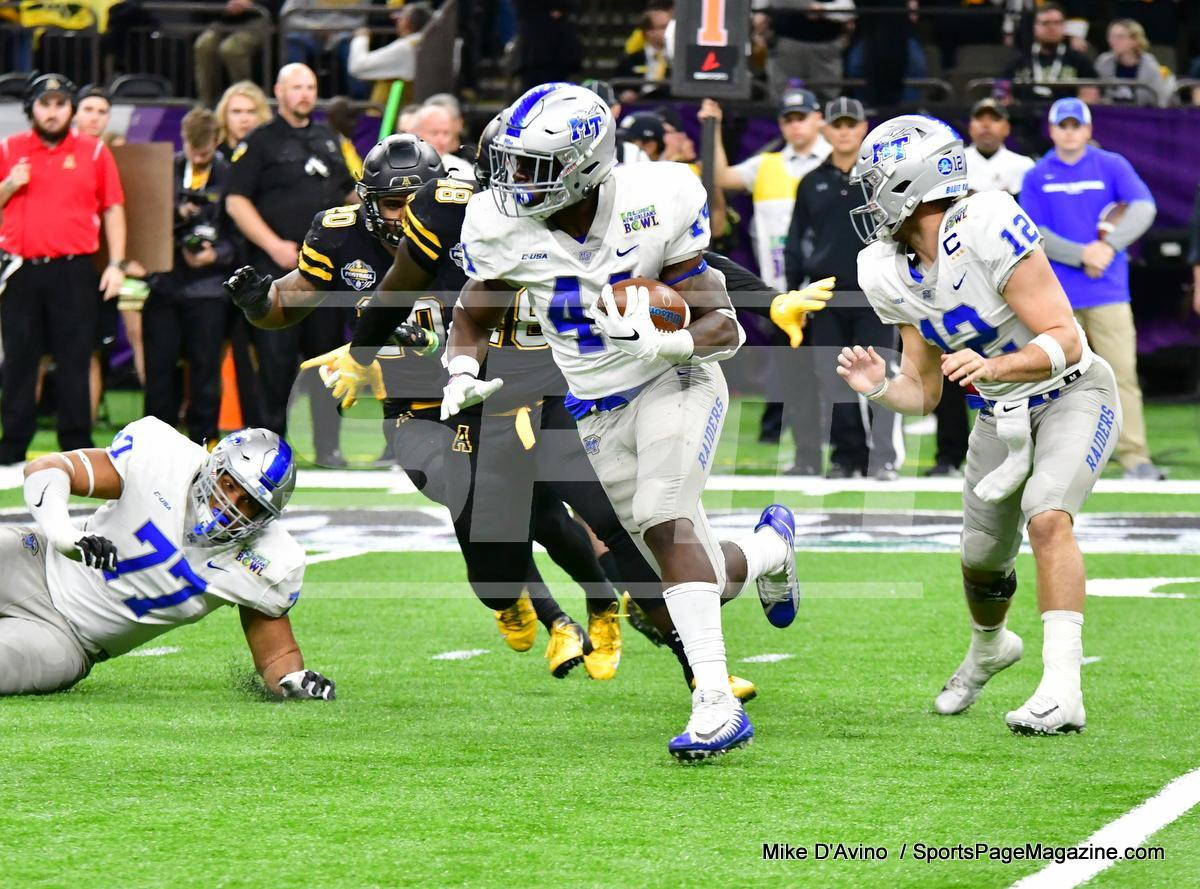 NCAA Football; Appalachian State 43 vs. Middle Tennessee 13 - Photo # (220)