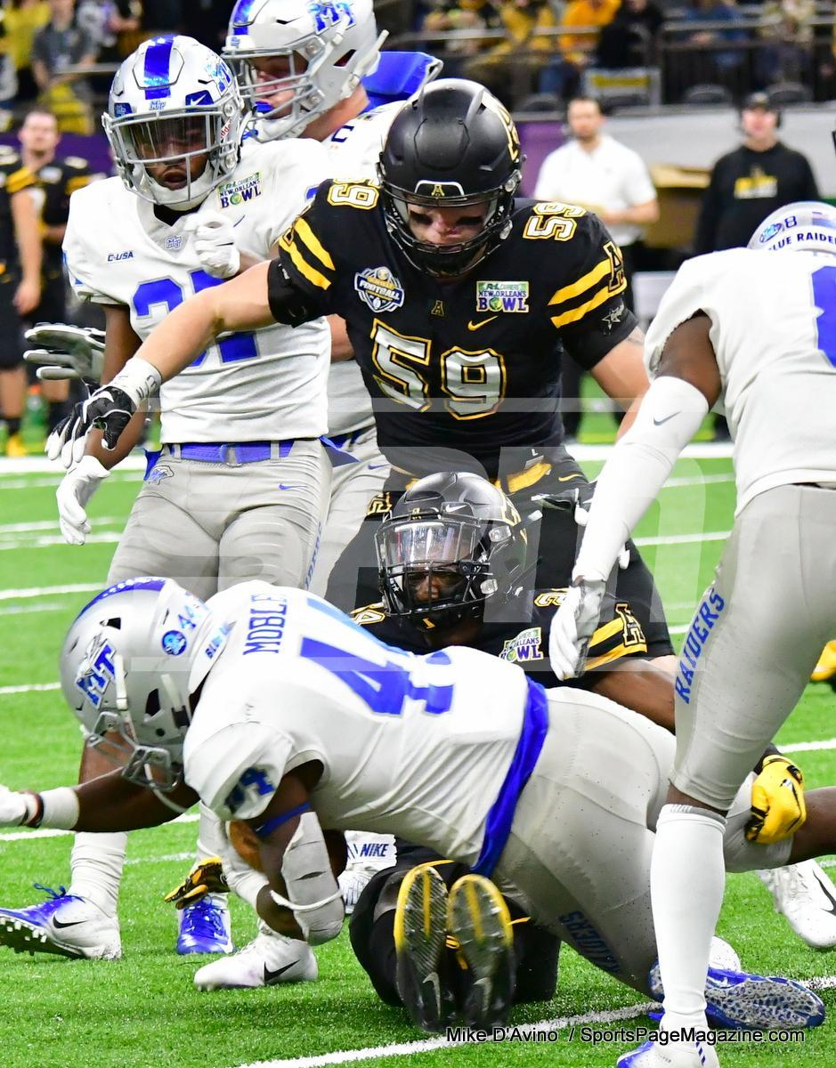 NCAA Football; Appalachian State 43 vs. Middle Tennessee 13 - Photo # (222)