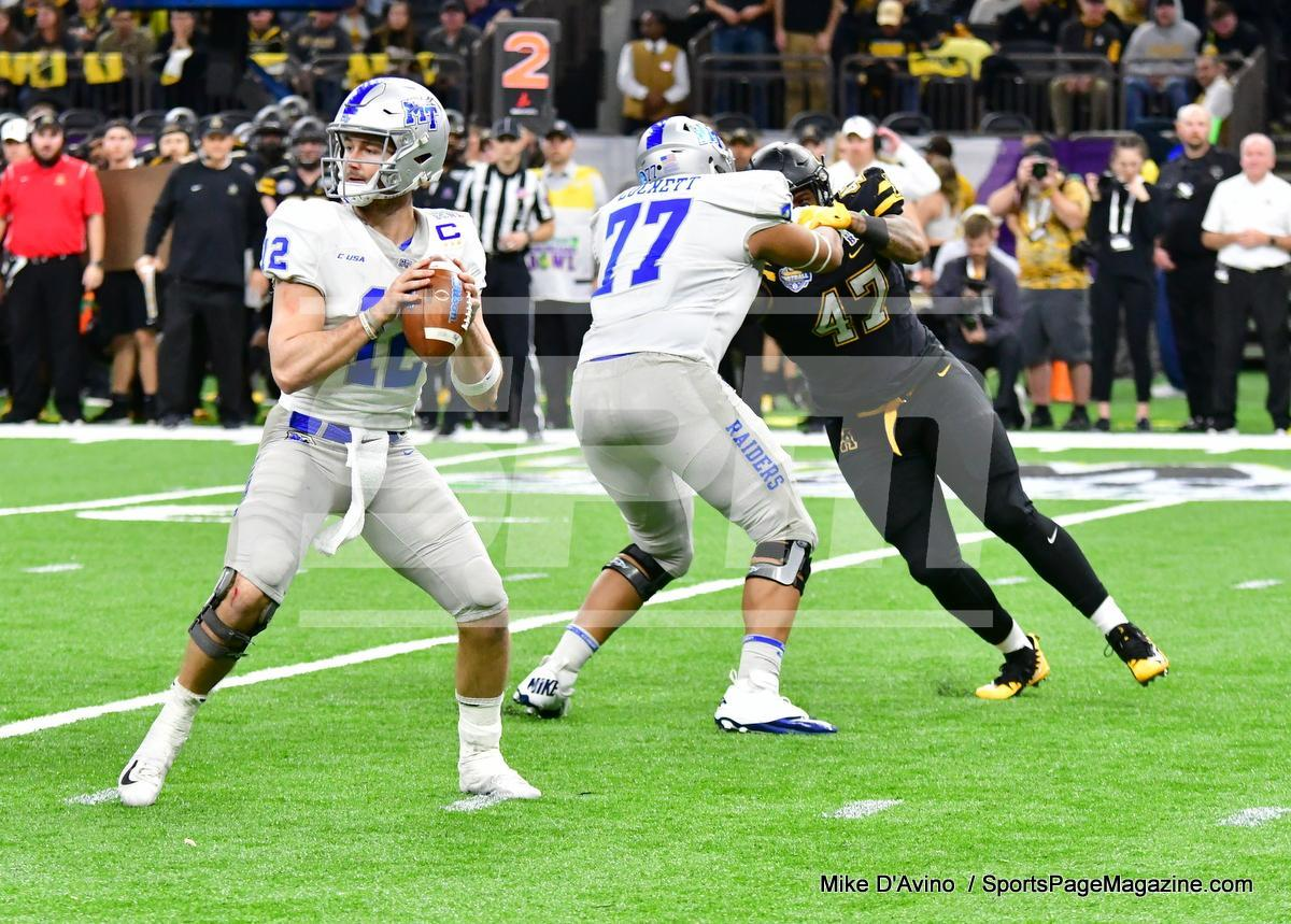 NCAA Football; Appalachian State 43 vs. Middle Tennessee 13 - Photo # (224)