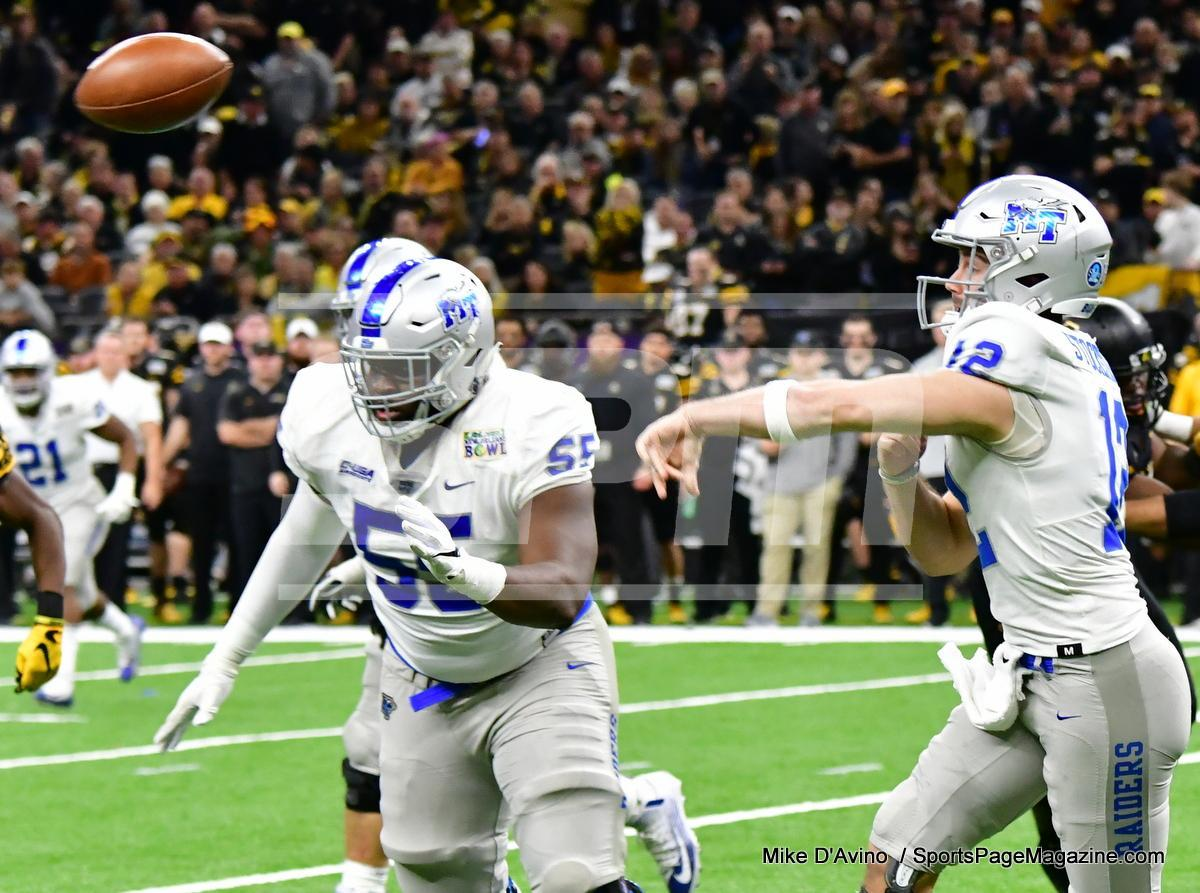 NCAA Football; Appalachian State 43 vs. Middle Tennessee 13 - Photo # (226)