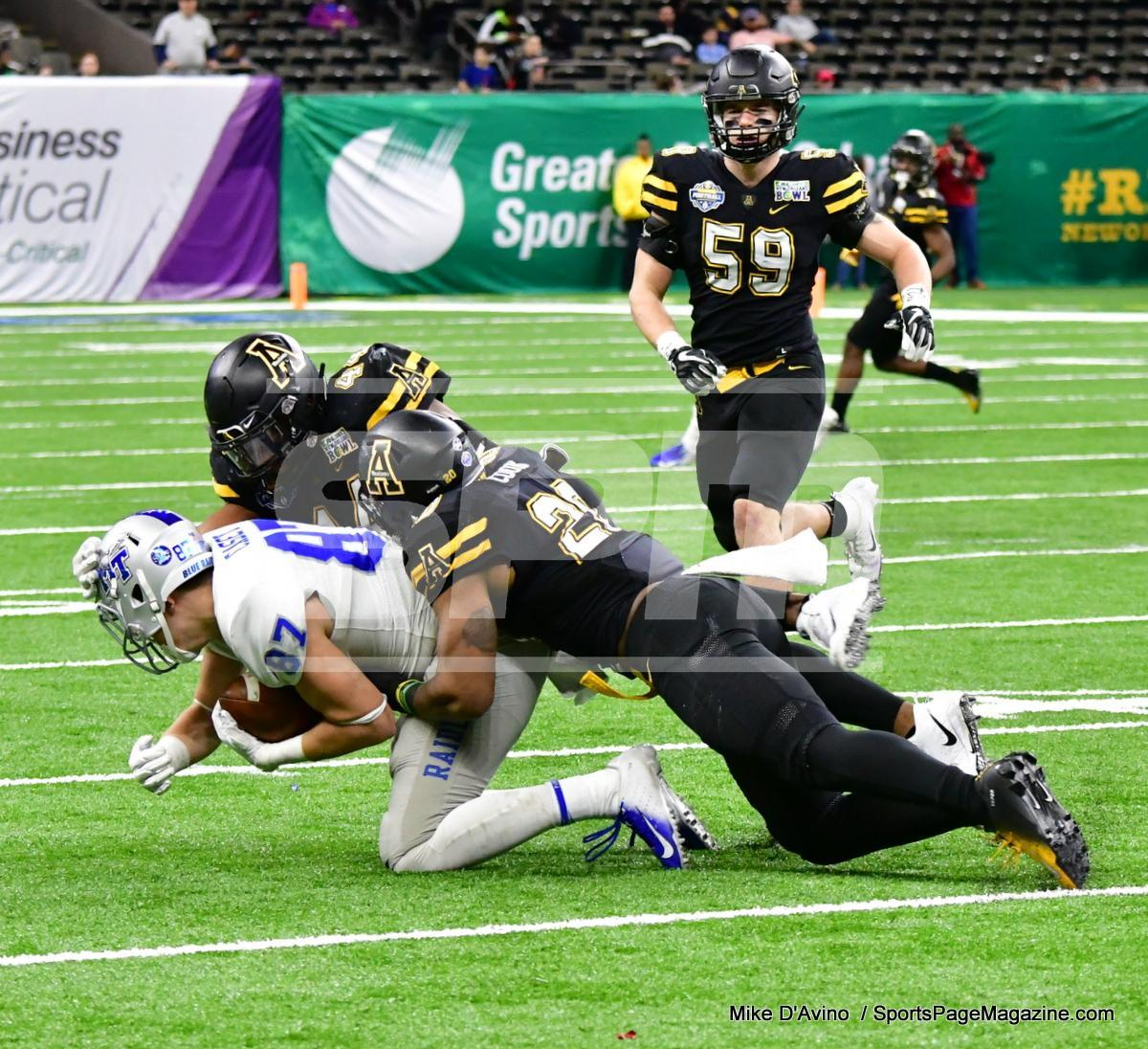 NCAA Football; Appalachian State 43 vs. Middle Tennessee 13 - Photo # (227)
