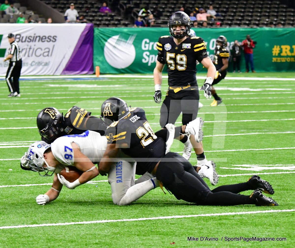 NCAA Football; Appalachian State 43 vs. Middle Tennessee 13 - Photo # (228)