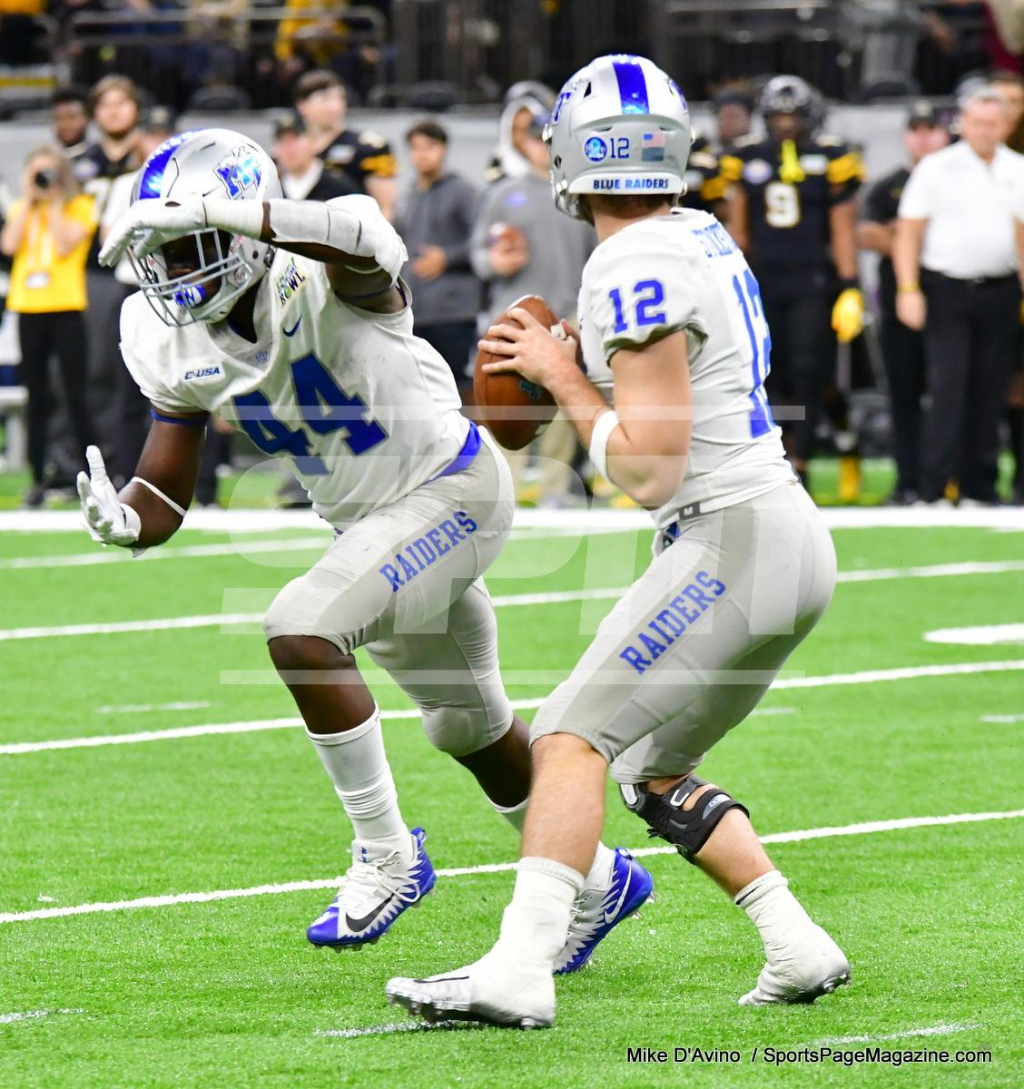 NCAA Football; Appalachian State 43 vs. Middle Tennessee 13 - Photo # (230)