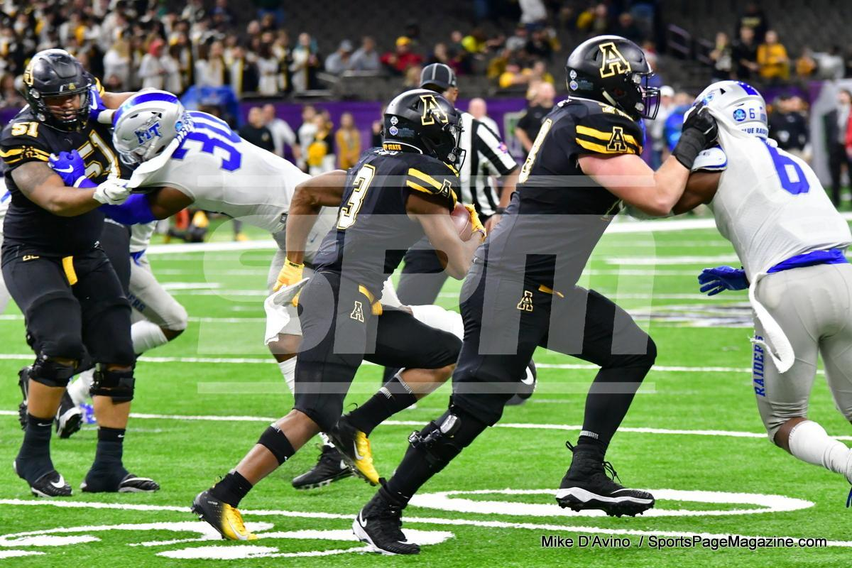 NCAA Football; Appalachian State 43 vs. Middle Tennessee 13 - Photo # (245)