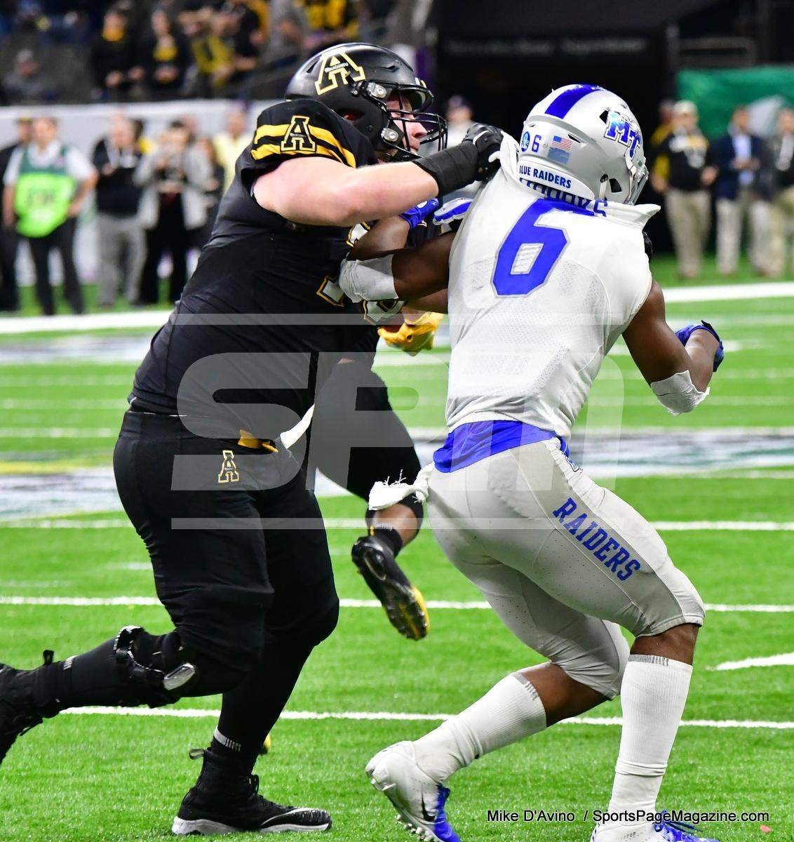NCAA Football; Appalachian State 43 vs. Middle Tennessee 13 - Photo # (246)