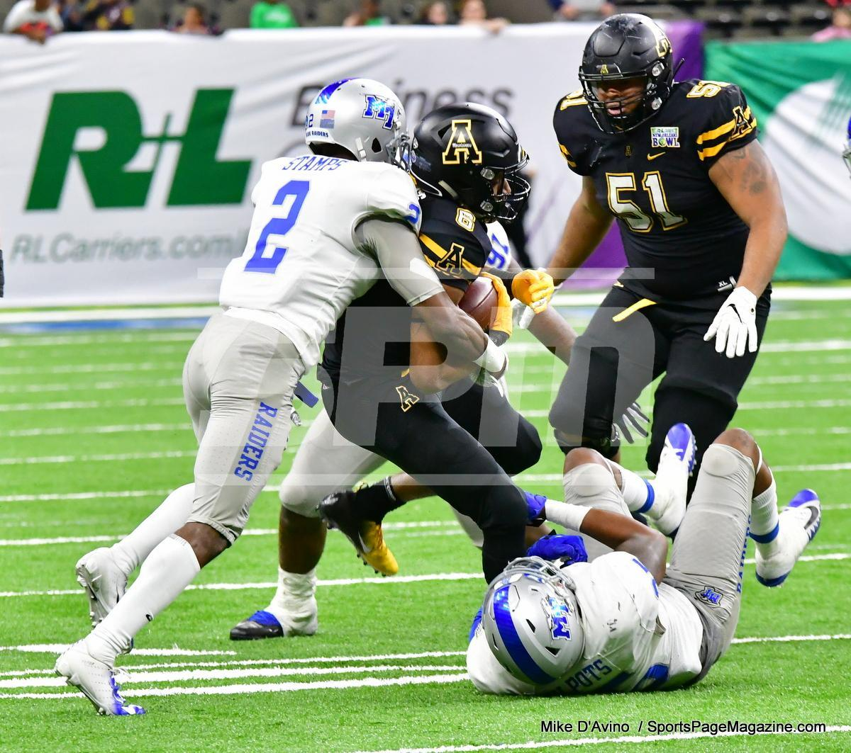 NCAA Football; Appalachian State 43 vs. Middle Tennessee 13 - Photo # (248)